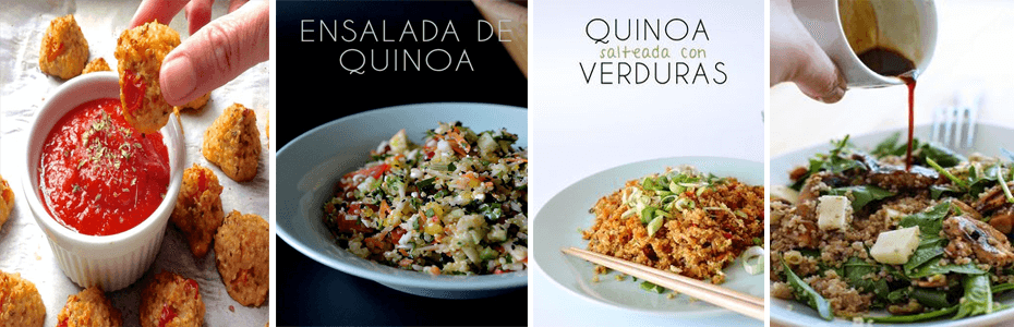 Platos saludables a base de nuestro grano ancestral: La Quinua