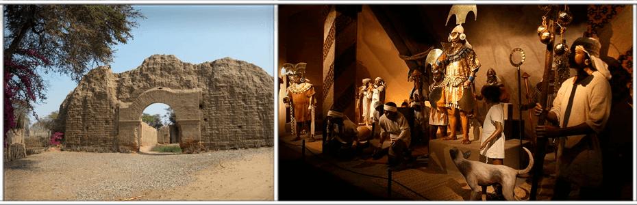 Túcume, Huaca Rajada y Museo Tumbas Reales de Sipán serán parte de documental japonés