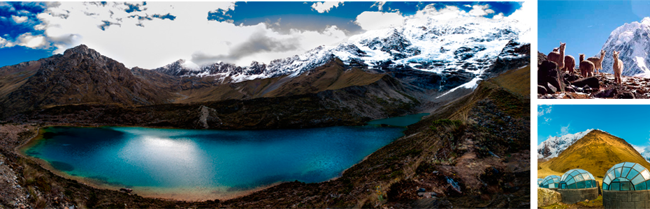 El nevado Salkantay o Apu Salkantay en Cusco