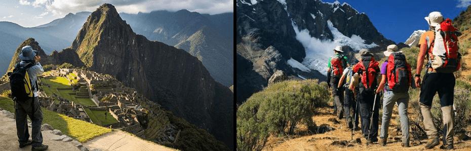 turistas en perú