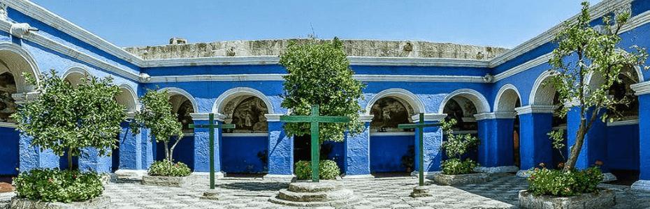 Conoce el enigmático Monasterio de Santa Catalina en Arequipa